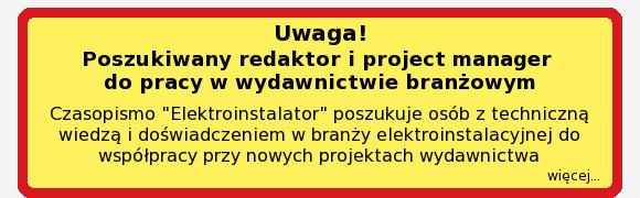 poszukiwany redaktor i project manager